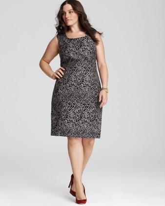 Shift Dress - Plus Size