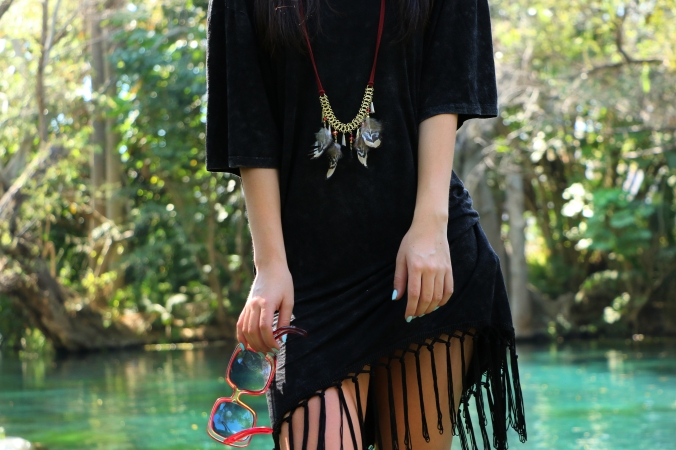 Hippie-Luxe style Boho Chic outfit blogger moda