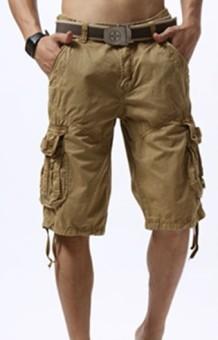 Cargo shorts. Men fashion mistakes