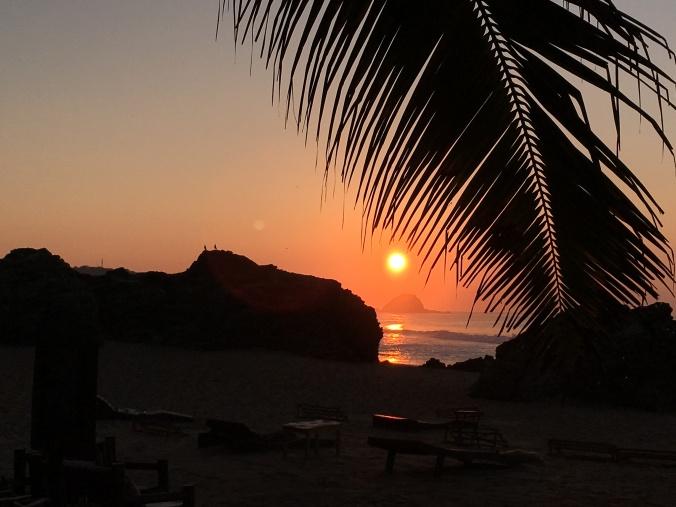 Sunrise Zipolite Oaxaca