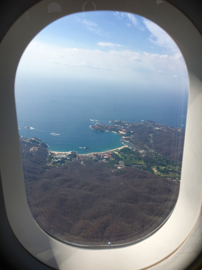 Huatulco from the air